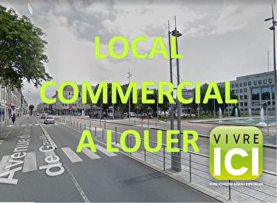 Local commercial Saint Nazaire 36 m2